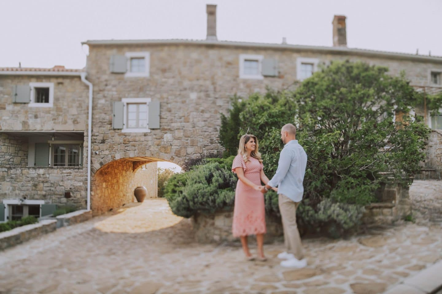 surprise marriage proposal small luxury hotel san canzian istria